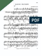 [Sheet Music - Score - Piano] Schubert - Military March