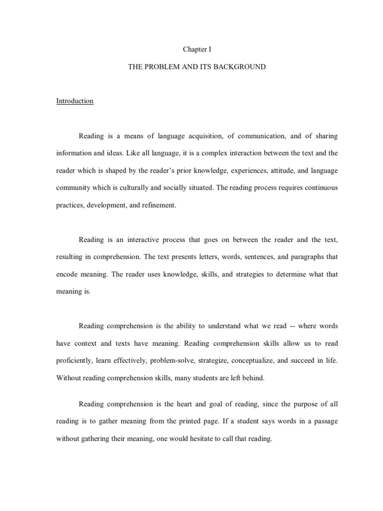essay on reading comprehension First grade reading comprehension a set of passages for students at a first grade reading level second grade reading comprehension a set of articles and stories for students at a second grade reading level.