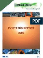 JRC Solar Status 2009