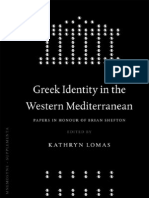 K. Lomas-Greek Identity in the Western Mediterranean