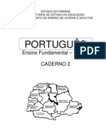 Apostila de Portugues - Ensino Fundamental - Caderno 2