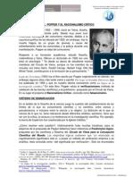 KARL  POPPER Y EL RACIONALISMO CRÍTICO