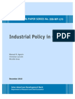 Agosin Larrain Grau Industrial Policy in Chile