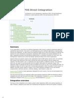 Openbravo POS Direct Integration
