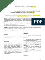 Modelo de Artigo Em ABNT- AESPI-2
