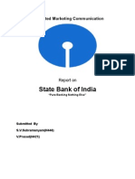 IMC Project State Bank of India