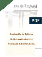 Cuadernillo Talleres X Semana de Pastoral de León