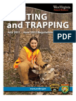 2011-2012 West Virginia Hunting and Trapping Regulations