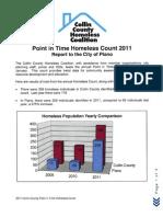 Collin County Homeless Coalition Survey 2011