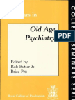Seminars in Old Age Psychiatry College Seminars Series