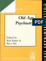 Seminars in Old Age Psychiatry College Seminars Series