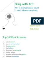 ACT in the Workplace (Parma Session Slides)