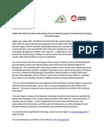 NSERC SOFCC Network News Announcement