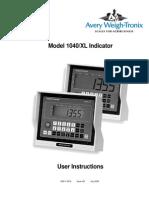 1040 User Manual
