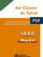 Health Cluster Guide 31mar2011 Sp