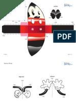 Mickey 3D Formato Gota