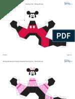 Boliche Mickey e Amigos