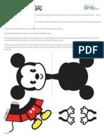 Mickey 3D Cutie