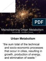Sustainable Cities Presentation_10 Urban Metabolism