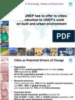 Sustainable Cities Presentation_11 UNEP
