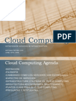 Infraestructura Teoria Cloud Computing