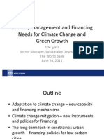 NDRC_Climate Change Conf_Policies, Management and Financing Needs for Climate Change and Green Growth