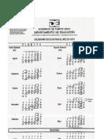 Calendario Escolar 2011-212