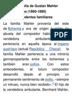 Biografía de Gustav Mahler