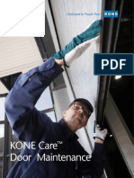 KONE Care Doors Maintenance