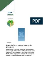Carta da Terra norteia atuação da UMAPAZ
