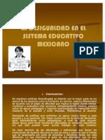 La Desigualdad en El Sistema Educativo Mexicano