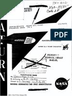 Saturn SA-2 Flight Evaluation