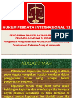 HUKUM PERDATA INTERNASIONAL 13