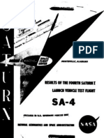 Results of the Fourth Saturn Launch Vehicle Test Flight SA-4