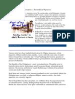 Philippine Politics and Corruption