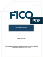 FICO - Company Overview