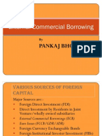 External Commercial Borrowing(ECB)