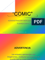 Mercadotecnia Estratégica.- Comic