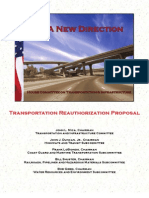 A New Direction - Transportation Reauthorization Proposal