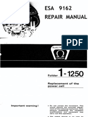 Esa 9154 Service Manual