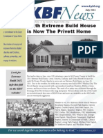 July 2011 KBF Newsletter