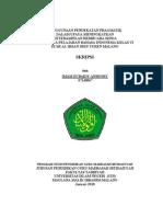 Daftar Skripsi Bahasa Indonesia Unindra Kumpulan Contoh Laporan Latihan Industri