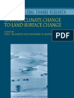 Climate Change to Land Surface Change
