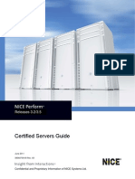 Certified Servers Guide - NP 3.2 - 3.5