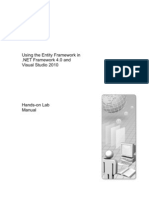 ADO.net Entity Framework HOL Manual