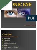 Bionic-eye Org PPT