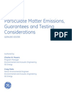59169027 GER 4285 Particulate Matter Emissions Guarantees and Testing Considerations