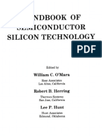 Handbook of Semiconductor Silicon Technology(1990)