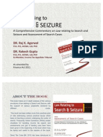 Book on Search & Seizure