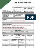 Gameloft Job Application Form Indo